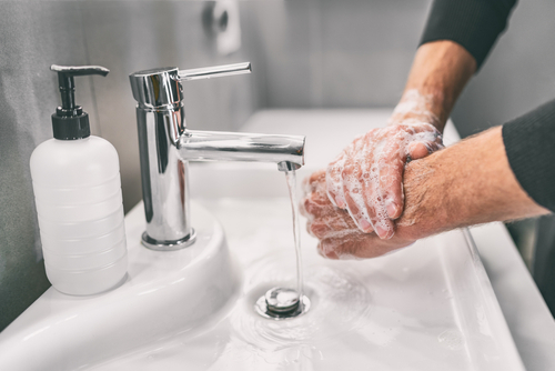 Washing,Hands,Rubbing,With,Soap,Man,For,Corona,Virus,Prevention,