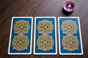 Photo,Cards,For,Fortune,Telling,Or,Playing.,Tarot,Cards,On
