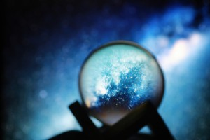 Astrological,Background.,Crystal,Ball,With,Predictions.,Horoscope,Of,The,Stars.